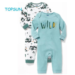 0790482c5 Wholesale Infant Clothes Spring Autumn Range Baby Romper Long Sleeve Baby  Onesie