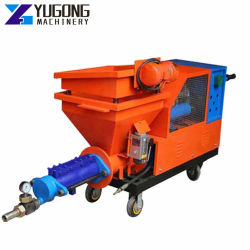 New Type Cement Mortar Grouting Spraying Wall Putty Machine