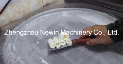 2017 New Style -30 C Degree Fried Ice Cream Machine Double Pan