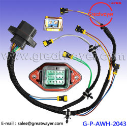 Diesel Wire Harness C9 Engine Parts 215 3249 Cat Cat330d Cat336D china equivalent part of tyco connector, equivalent part of tyco