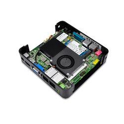 Qotom-Q210s Intel Core-I3 3217u Dual Core Fan Mini PC Computer