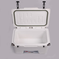 30L Heavy-Duty Rotomolded Coolers Portable Insulated Beer Ice Cooler Box for Outdoors Sports