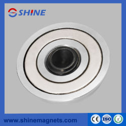 M8 Thread Steel Magnetic Fixing Plate (Bushing Magnet) for Precast Concrete Formwork