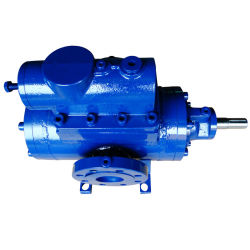 High Pressure Particle Transport Double Screw Pump Slurry Pump Screw Pump with Motor