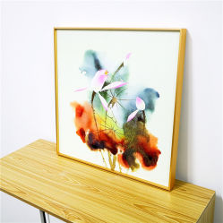 Gold Aluminum Picture Frame for Home Decorative Factory Price