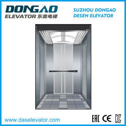 Vvvf Gearless Passenger Home Observation Elevator with High Quality