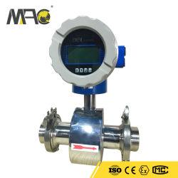 Low Price 316L Stainless Steel Electromagnetic Sea Water Cement Slurry Flow Meter