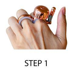 Fashion Gift The Bell Ring for Outdoor Sports Runbell