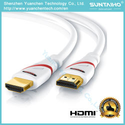 2.0/1.4V Gold Plated Hight Speed 3k/4k HD HDMI Cable for DVD/Computer/xBox