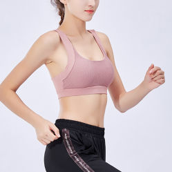 Sports Bras Padded High Impact Support for Yoga Gym Workout Fitness Yoga Bra