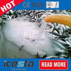 2000 Kg/Day Slurry Ice Machine Best Cooling Effect for Seafood/Fish