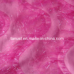 150d 100% Polyester Fabric with Gold Print/Foiled