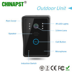 7 Inch Color Wired Touch Key Video Security Doorphone (PST-VD7WT2)
