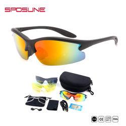 New Man Cycling Eyewear Custom Brand Logo Paddleball Sunglass Outdoor Cycling Glasses Bicycle Bike UV400 Sports Sun Glass