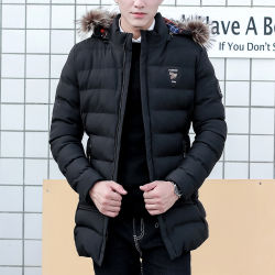 Hot Sell Customized Winter Casual Men Jacket Outerwear Wholesale