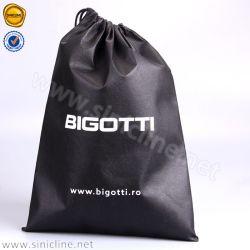 Sinicline Design Natural Printed Small Travel Sports Velvet Drawstring Bag