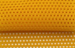 Cotton Fabric Lining Knitted Mesh Fabric for Sportswear