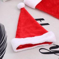 53b9d3a7f3abf Hot Style Christmas Decoration High Grade Plush Christmas Hat