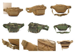 6-Colors Military Tactical Hunting Running Sport Camouflage Belt Waist Bag