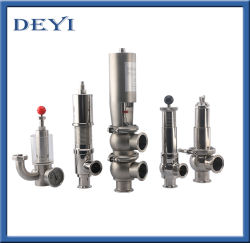 Sanitary Stainless Steel Hygienic Cut-off Stop Valve