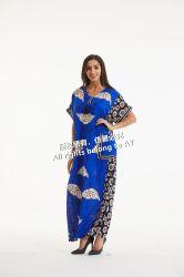 Hot Sale African Clothing Patterns Traditional Batik Long Dress