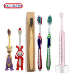 Eco Friendly Biodegradable Home Daily Use Charcoal Product Bamboo Electric Toothbrush for Adult&Kids&Baby