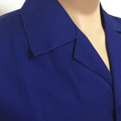 Textile Twill Customize Cotton Blue Safety Workwear for Policeman