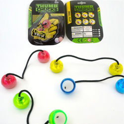 Factory Wholesale Fidget Yoyo LED Fingertip Skill Toy Thumb Chucks
