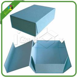 Foldable Cardboard Magnetic Gift Boxes Wholesale with Flap Closure