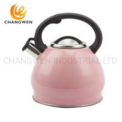 S/S 3.5L Stainless Steel Whistle Kettle Kitchen Ware for Induction