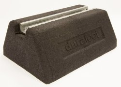 Durafoot Fx250 Rubber Support Foot Rooftop Block Base for Cable Tray, Busbar, Ducting & Pipework