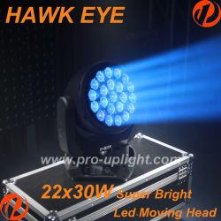 Hawk Eye 22X30W RGBW 4in1 B Eye LED Stage Lighting