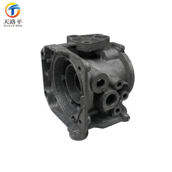 OEM Aluminum Precision Die Casting Auto Parts with Power Coating