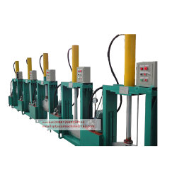 Vertical Rubber Bale Cutter Machine