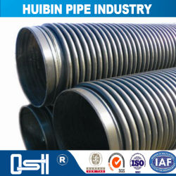 Sn4/Sn6/Sn8/Sn12.5 Flexible Pipe HDPE Environmental Pipe for Water Supply