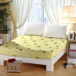 Superieur Manufacturer Wholesale New Design Cotton Hotel Bed Sheet Fitted Sheet