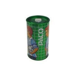 Round Perfume Tin Box for Sports Man Perfume Tin Box Package