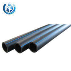HDPE Pipe Dn 250mm Pn16 Pipe HDPE Mining Slurry Pipe for Construction