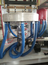 Biodegradable Polyethylene Polythene PE HDPE Plastic Film Blowing Machine