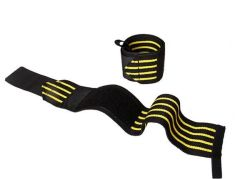 1 Pair Sport Gym Hand Wrist Brace Support Weight Lifting Strap Wrap Wristband