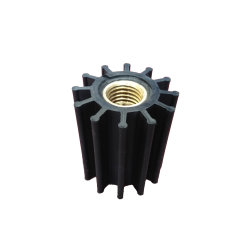 OEM Strong Flexible Open Plastic Impeller / Enclosed Impeller for Assembly Part