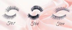 Own Brand/OEM/Private Label Wholesale 3D 100% Mink Fur False Eyelashes Silk Lashes