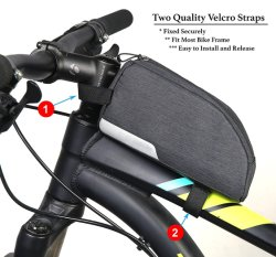 Wholesale Bicycle Top Tube Bag Cycling Accessories Pouch Cell Phone Holder Biking Gears Cycling Tools Bike Frame Bag