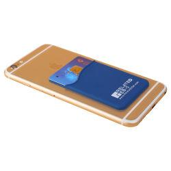 Custom Design Silicone Credit Card Holder Mobile Phone Case