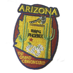 Fish and Wildlife Conservation Commission Embroidery Patch