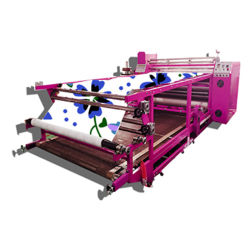 Heat Press Sublimation Transfer Machine / Roller Heat Transfer Printing Machine
