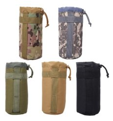 Military Sport Bags Cover 2L Portable Water Bottlecamping Kettle Bags for Backpack Vest Belt Travel Cycling Hiking
