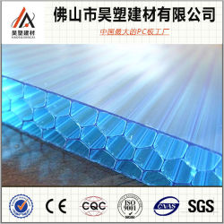 Sun Sheets & PC Embossed Sheets Honeycomb Polycarbonate Hollow Sheet