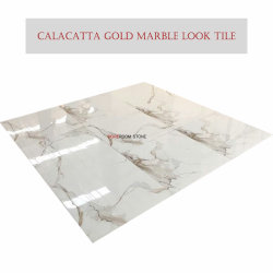 800X800 Polished Calacatta Gold Porcelain Tile