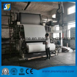 High Speed Production Toilet Paper and Facial Tissue Paper Roll Machine
